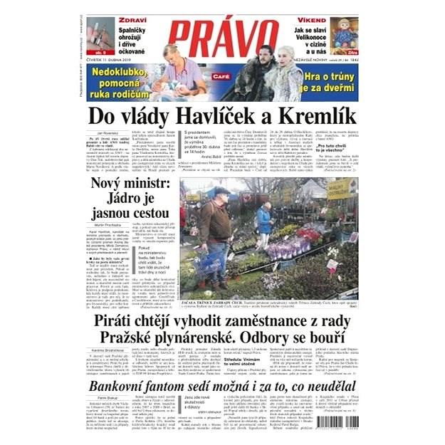Právo - 11-04-2019 - Elektronické noviny