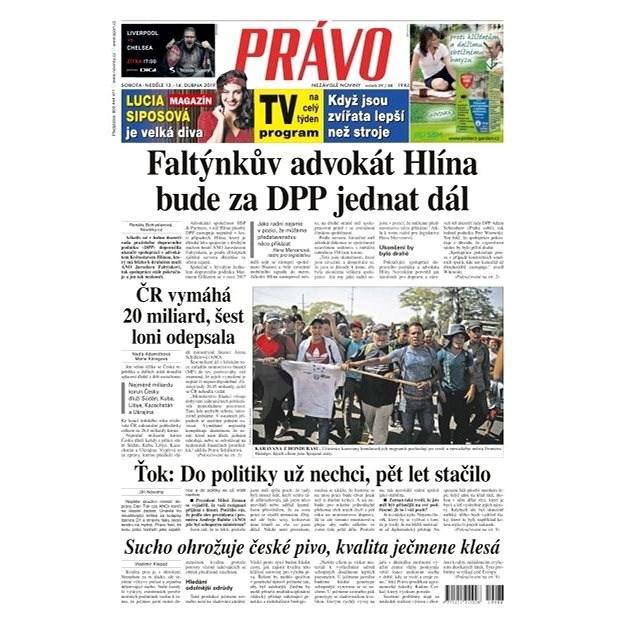 Právo - 13-04-2019 - Elektronické noviny