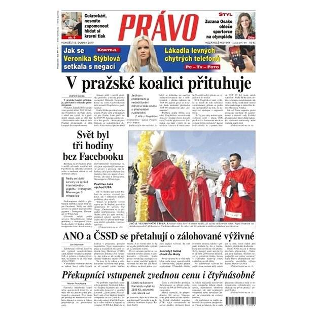 Právo - 15-04-2019 - Elektronické noviny