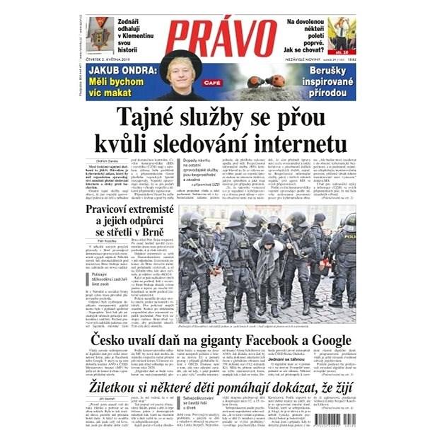 Právo - 02-05-2019 - Elektronické noviny
