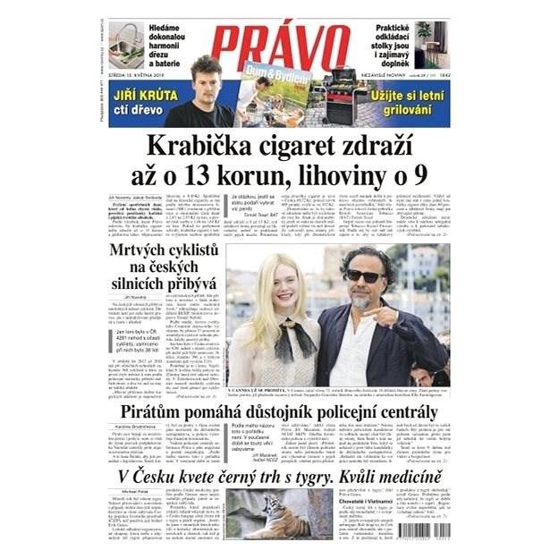 Právo - 15-05-2019 - Elektronické noviny