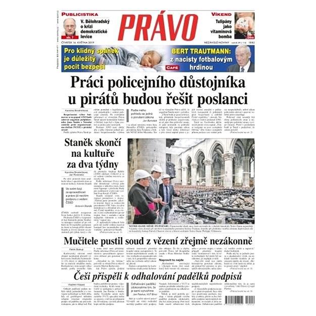 Právo - 16-05-2019 - Elektronické noviny