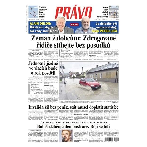 Právo - 23-05-2019 - Elektronické noviny