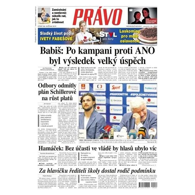 Právo - 28-05-2019 - Elektronické noviny