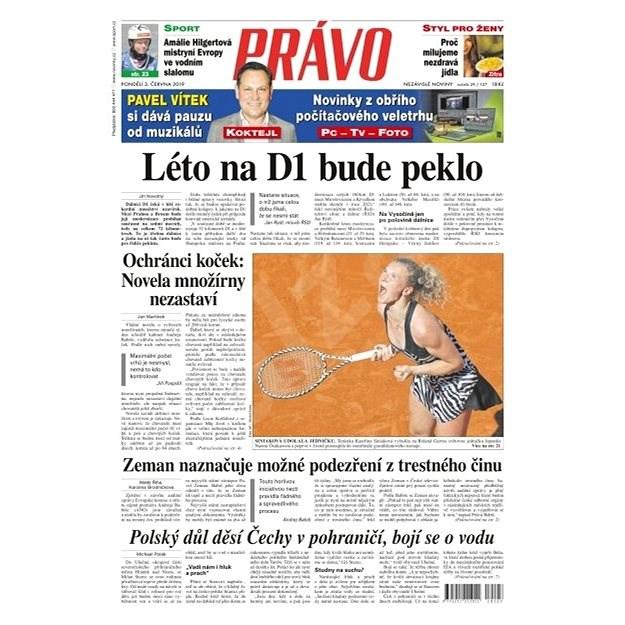 Právo - 03-06-2019 - Elektronické noviny