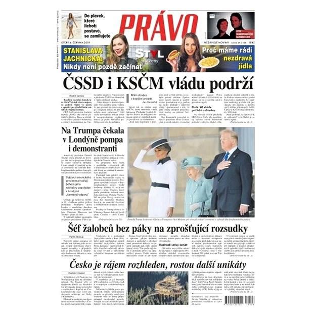 Právo - 04-06-2019 - Elektronické noviny