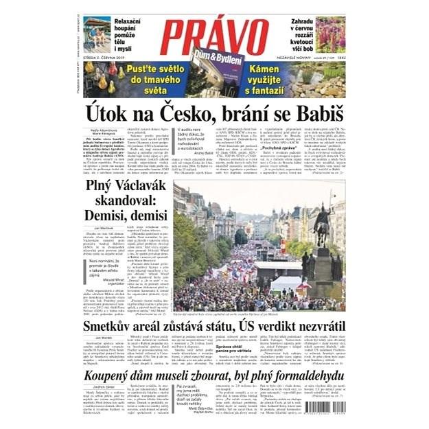 Právo - 05-06-2019 - Elektronické noviny