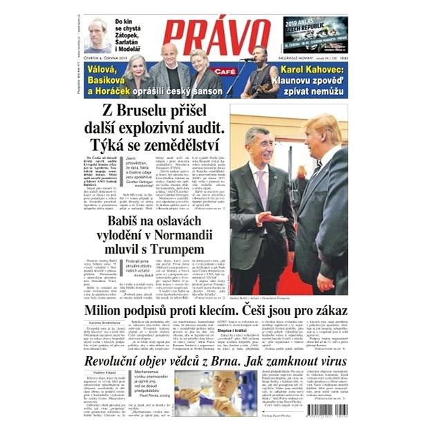Právo - 06-06-2019 - Elektronické noviny