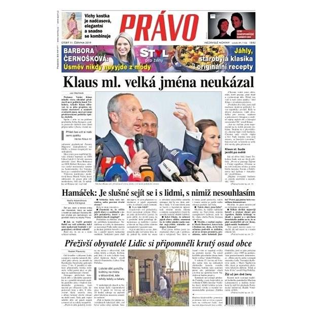 Právo - 11-06-2019 - Elektronické noviny
