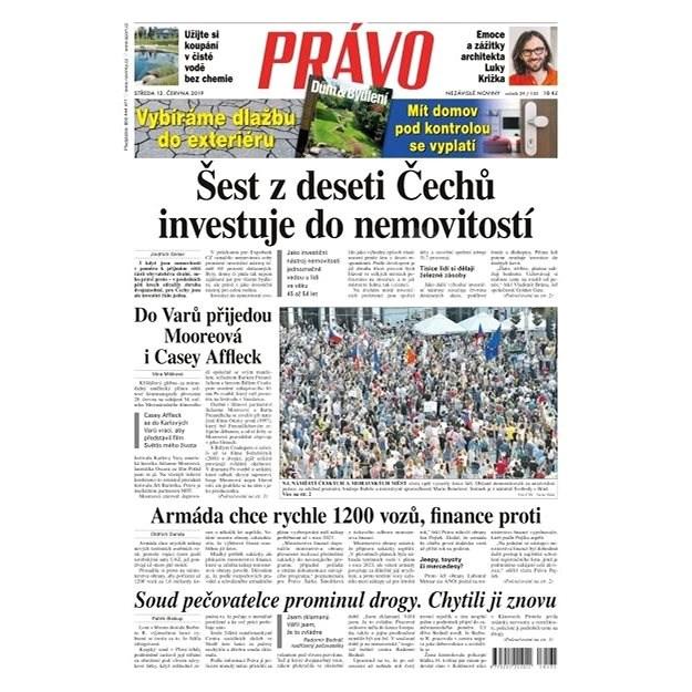 Právo - 12-06-2019 - Elektronické noviny