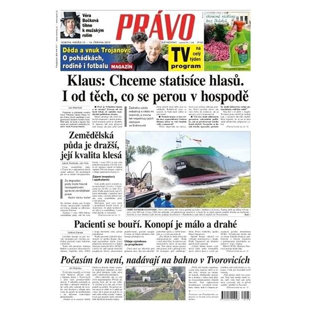 Právo - 15-06-2019 - Elektronické noviny