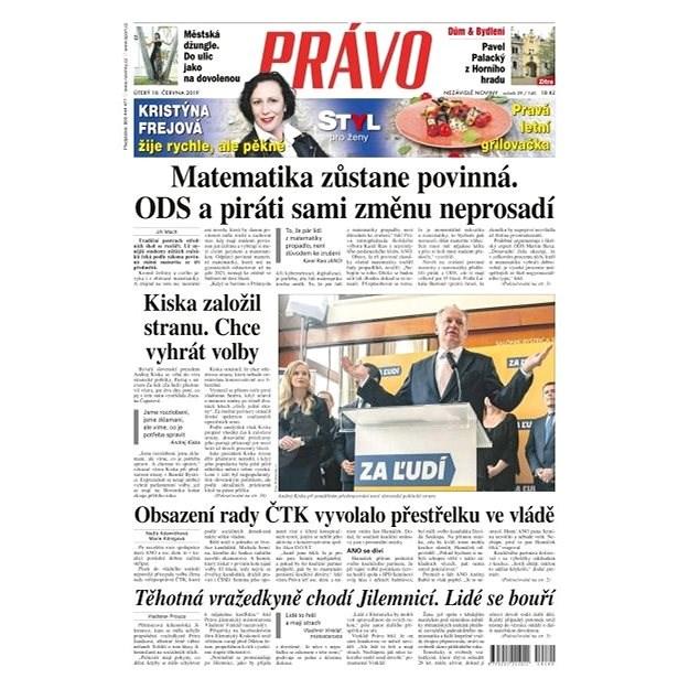 Právo - 18-06-2019 - Elektronické noviny