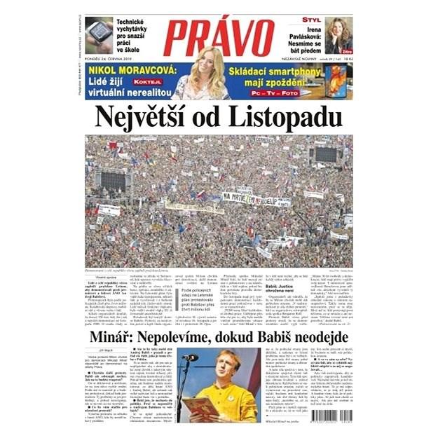 Právo - 24-06-2019 - Elektronické noviny