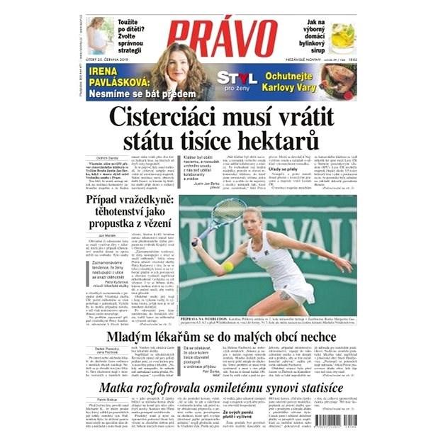 Právo - 25-06-2019 - Elektronické noviny