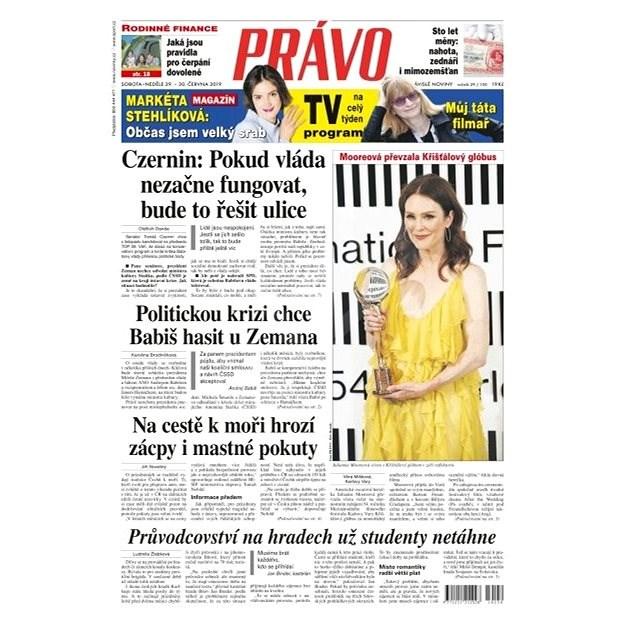 Právo - 29-06-2019 - Elektronické noviny