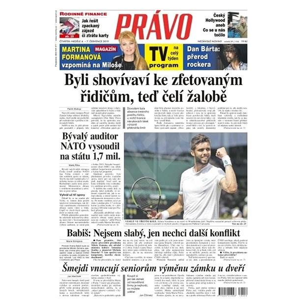 Právo - 04-07-2019 - Elektronické noviny