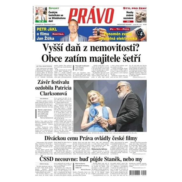 Právo - 08-07-2019 - Elektronické noviny