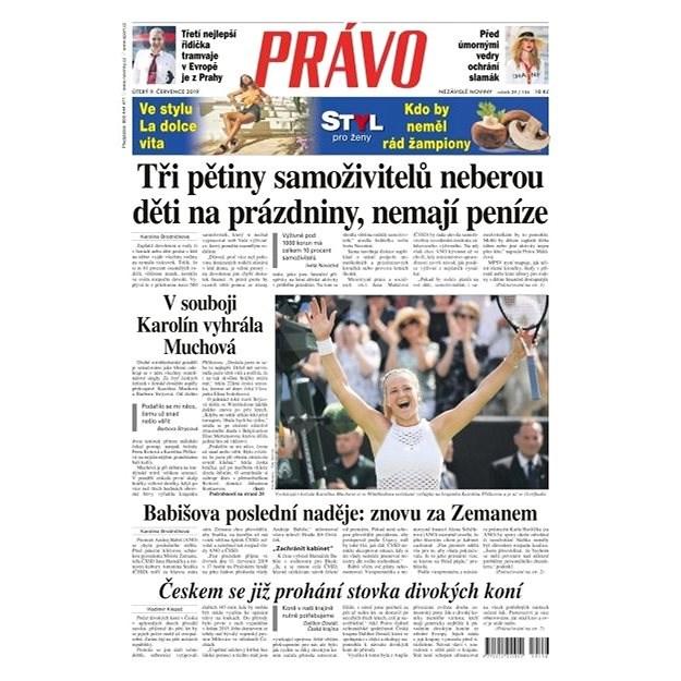 Právo - 09-07-2019 - Elektronické noviny