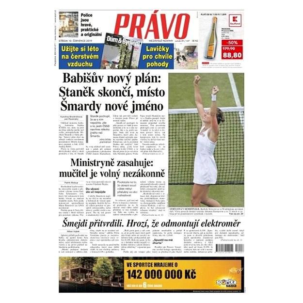 Právo - 10-07-2019 - Elektronické noviny