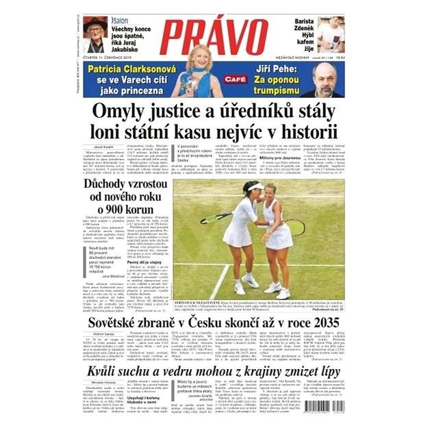 Právo - 11-07-2019 - Elektronické noviny