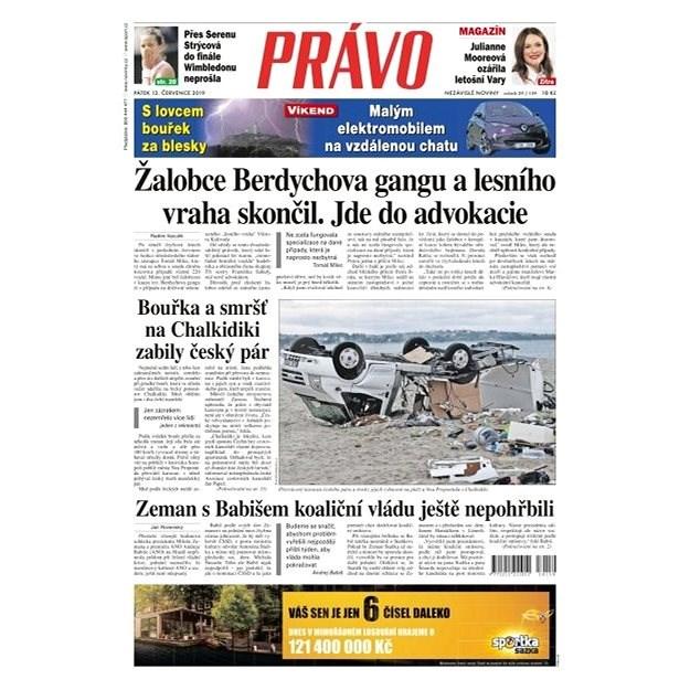 Právo - 12-07-2019 - Elektronické noviny