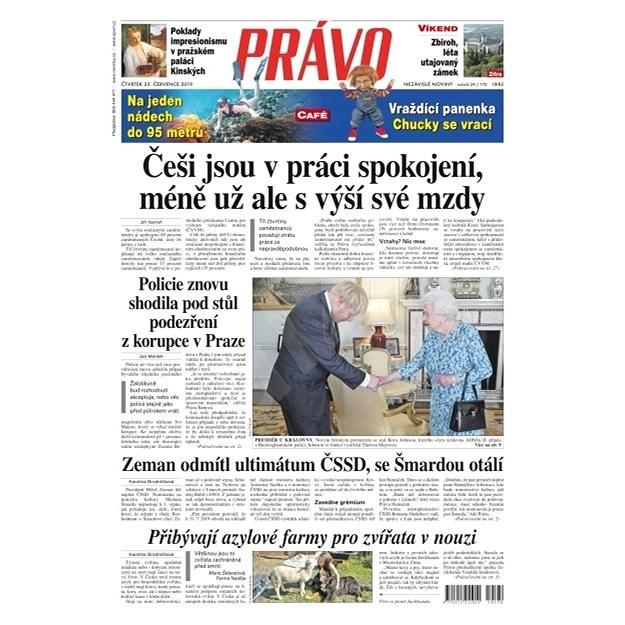 Právo - 25-07-2019 - Elektronické noviny