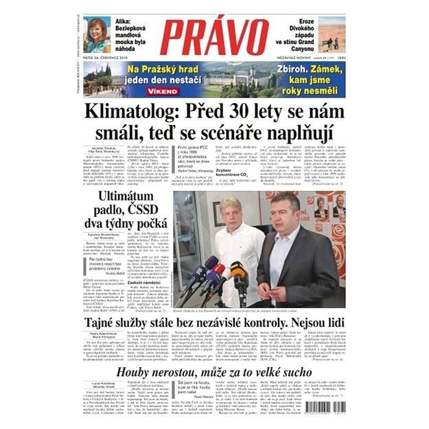 Právo - 26-07-2019 - Elektronické noviny