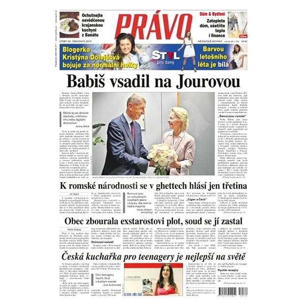 Právo - 30-07-2019 - Elektronické noviny
