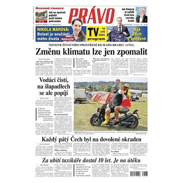 Právo - 03-08-2019 - Elektronické noviny