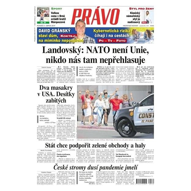 Právo - 05-08-2019 - Elektronické noviny