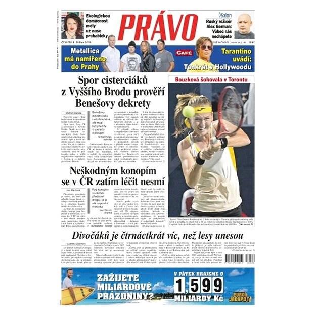 Právo - 08-08-2019 - Elektronické noviny