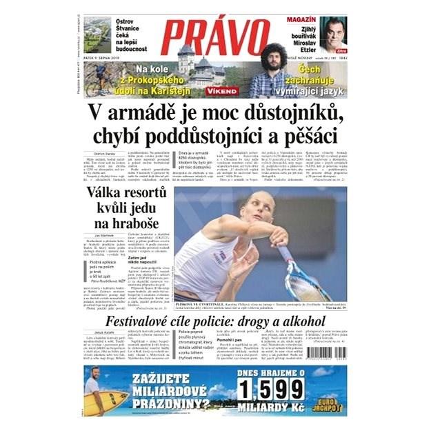 Právo - 09-08-2019 - Elektronické noviny