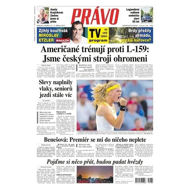 Právo - 10-08-2019 - Elektronické noviny