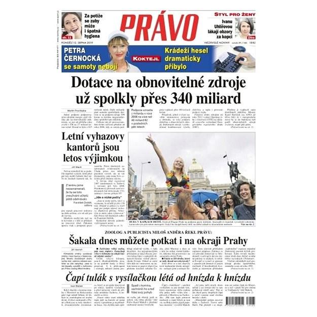 Právo - 12-08-2019 - Elektronické noviny