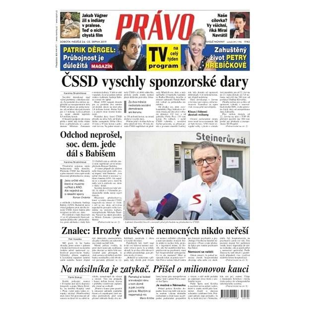 Právo - 24-08-2019 - Elektronické noviny