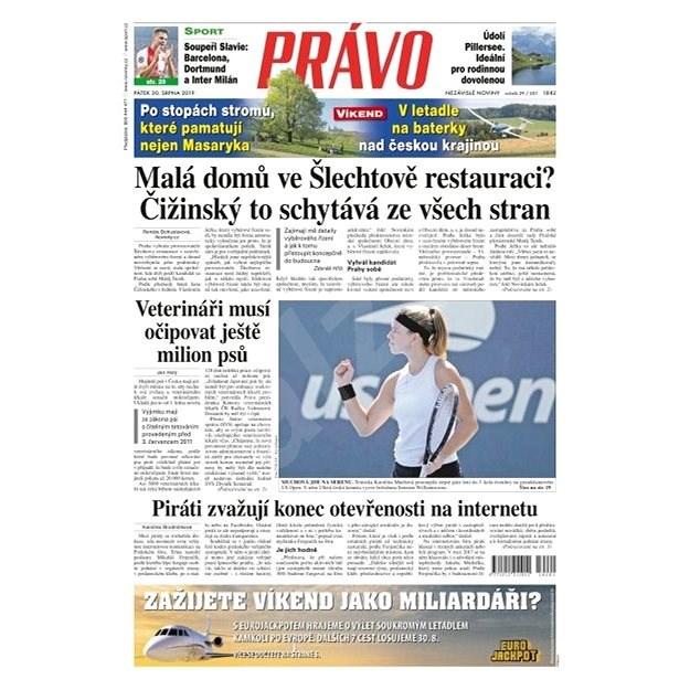 Právo - 30-08-2019 - Elektronické noviny