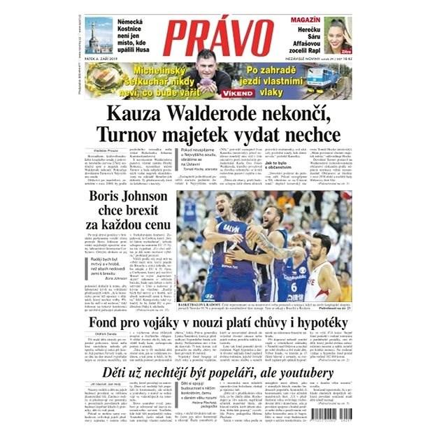 Právo - 06-09-2019 - Elektronické noviny