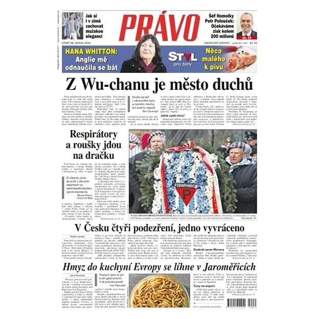 Právo - 28-01-2020 - Elektronické noviny