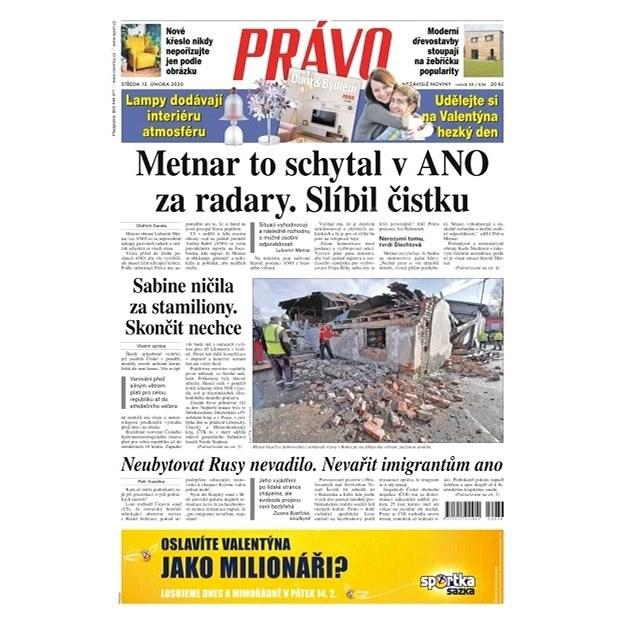 Právo - 12-02-2020 - Elektronické noviny