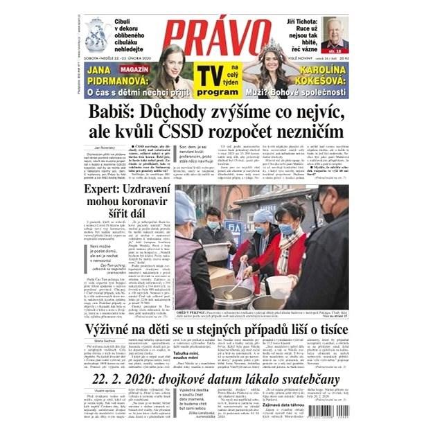 Právo - 22-02-2020 - Elektronické noviny