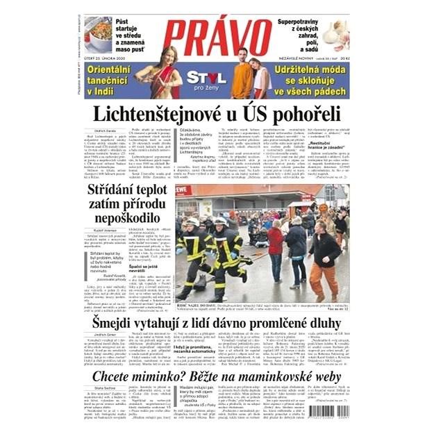 Právo - 25-02-2020 - Elektronické noviny