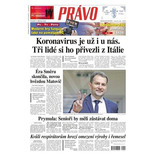 Právo - 02-03-2020 - Elektronické noviny