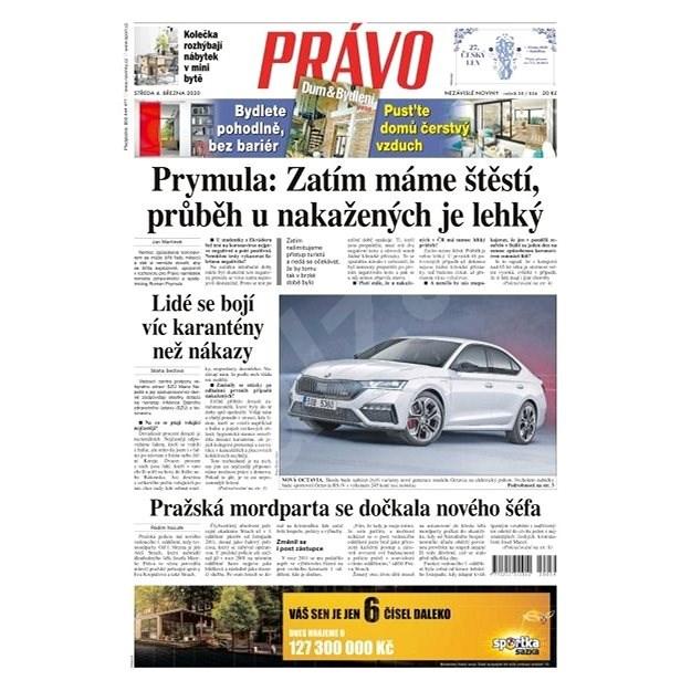Právo - 04-03-2020 - Elektronické noviny