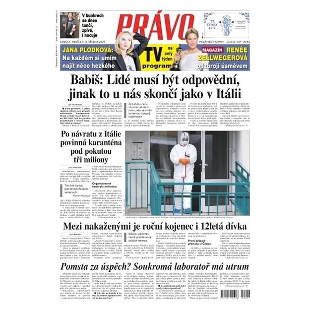 Právo - 07-03-2020 - Elektronické noviny