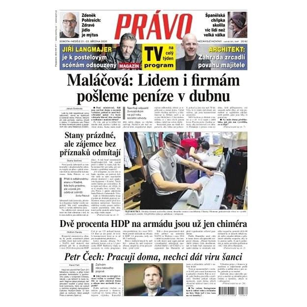 Právo - 21-03-2020 - Elektronické noviny