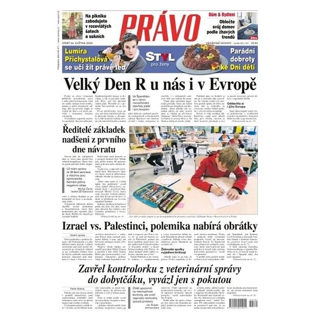 Právo - 26-05-2020 - Elektronické noviny