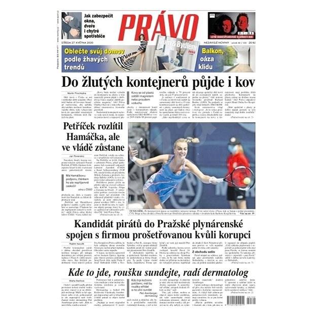 Právo - 27-05-2020 - Elektronické noviny