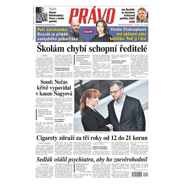 Právo - 28-05-2020 - Elektronické noviny