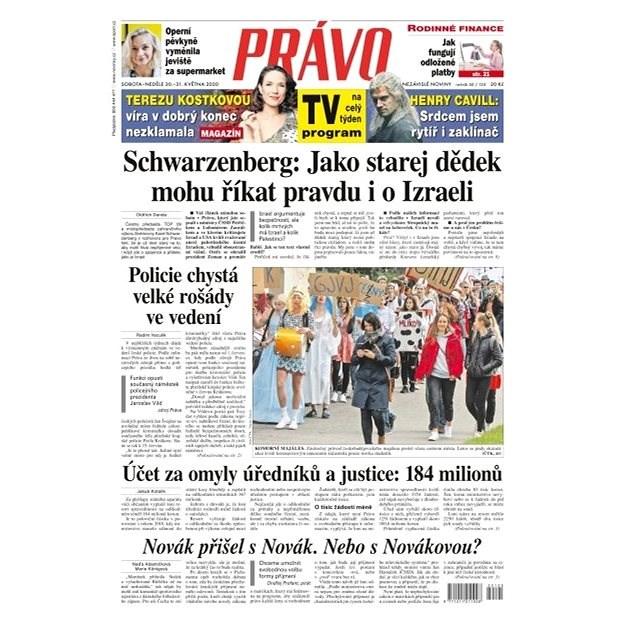 Právo - 30-05-2020 - Elektronické noviny