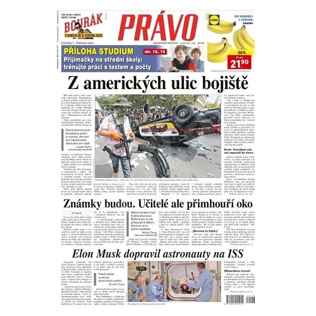 Právo - 01-06-2020 - Elektronické noviny